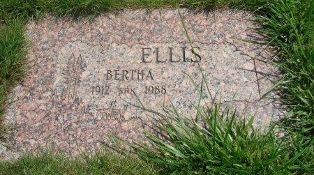 ELLIS, BERTHA W - Yamhill County, Oregon   BERTHA W ELLIS - Oregon Gravestone Photos