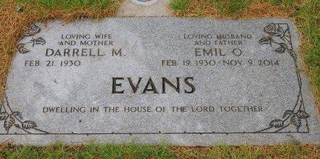 EVANS, DARRELL M - Yamhill County, Oregon | DARRELL M EVANS - Oregon Gravestone Photos