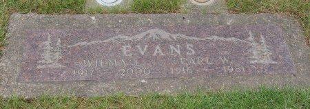 EVANS, WILMA LEONE - Yamhill County, Oregon | WILMA LEONE EVANS - Oregon Gravestone Photos