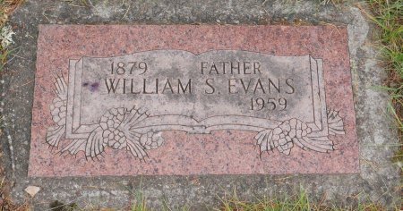 EVANS, WILLIAM S - Yamhill County, Oregon | WILLIAM S EVANS - Oregon Gravestone Photos