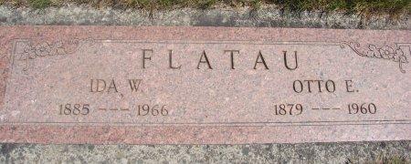 REINHOLZ FLATAU, IDA W - Yamhill County, Oregon   IDA W REINHOLZ FLATAU - Oregon Gravestone Photos