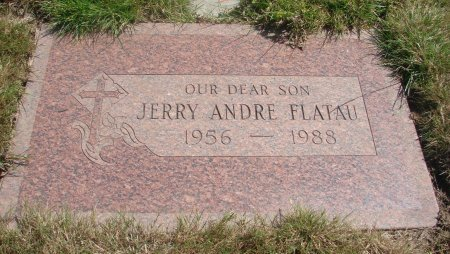 FLATAU, JERRY ANDRE - Yamhill County, Oregon | JERRY ANDRE FLATAU - Oregon Gravestone Photos