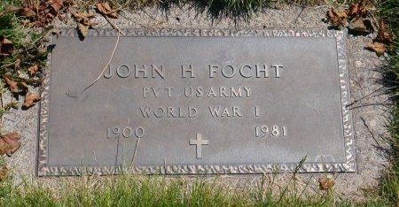 FOCHT, JOHN H - Yamhill County, Oregon | JOHN H FOCHT - Oregon Gravestone Photos