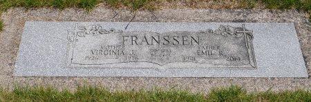 BRATTIN FRANSSEN, VIRGINIA JEAN - Yamhill County, Oregon | VIRGINIA JEAN BRATTIN FRANSSEN - Oregon Gravestone Photos