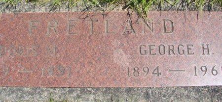 HILL FRETLAND, DORIS MARGUERITE - Yamhill County, Oregon   DORIS MARGUERITE HILL FRETLAND - Oregon Gravestone Photos