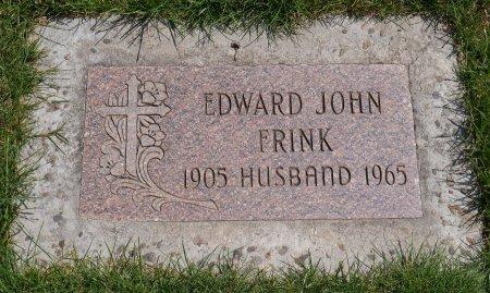 FRINK, EDWARD JOHN - Yamhill County, Oregon | EDWARD JOHN FRINK - Oregon Gravestone Photos