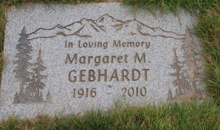 GEBHARDT, MARGARET MARY - Yamhill County, Oregon   MARGARET MARY GEBHARDT - Oregon Gravestone Photos