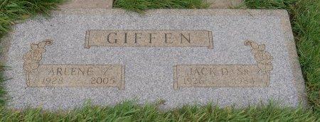 GIFFEN, JACK D SR - Yamhill County, Oregon | JACK D SR GIFFEN - Oregon Gravestone Photos