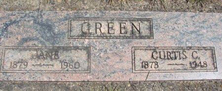 VERNIER GREEN, JANE JENNIE - Yamhill County, Oregon   JANE JENNIE VERNIER GREEN - Oregon Gravestone Photos
