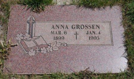 GROSSEN, ANNA - Yamhill County, Oregon   ANNA GROSSEN - Oregon Gravestone Photos