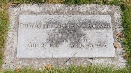 GROSSER, DUWAYNE ORMAN - Yamhill County, Oregon | DUWAYNE ORMAN GROSSER - Oregon Gravestone Photos