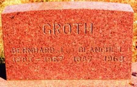 GROTH, BERNHARD JOHN - Yamhill County, Oregon | BERNHARD JOHN GROTH - Oregon Gravestone Photos