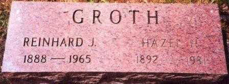 POOL GROTH, HAZEL HARRIET - Yamhill County, Oregon | HAZEL HARRIET POOL GROTH - Oregon Gravestone Photos
