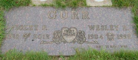 GURR, WESLEY EDWARD - Yamhill County, Oregon | WESLEY EDWARD GURR - Oregon Gravestone Photos
