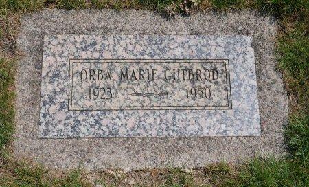 GUTBROD, ORBA MARIE - Yamhill County, Oregon | ORBA MARIE GUTBROD - Oregon Gravestone Photos