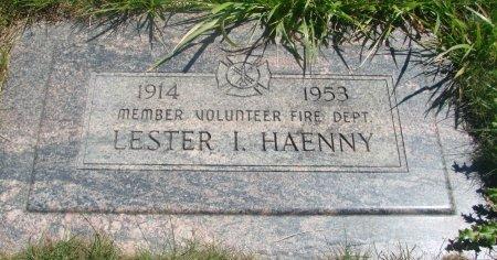 HAENNY, LESTER IRWIN - Yamhill County, Oregon   LESTER IRWIN HAENNY - Oregon Gravestone Photos