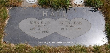 HALL, RUTH JEAN - Yamhill County, Oregon | RUTH JEAN HALL - Oregon Gravestone Photos