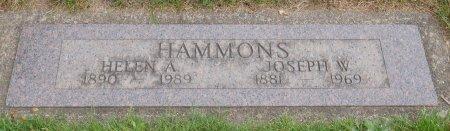 HAMMONS, HELEN AUGUSTA - Yamhill County, Oregon | HELEN AUGUSTA HAMMONS - Oregon Gravestone Photos