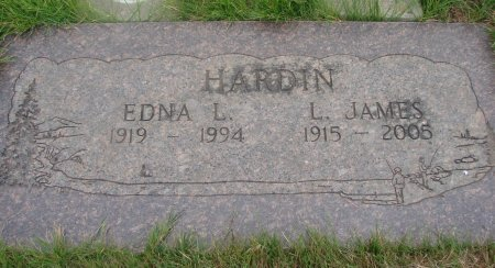 VAN DOMELEN HARDIN, EDNA LOUISE - Yamhill County, Oregon | EDNA LOUISE VAN DOMELEN HARDIN - Oregon Gravestone Photos