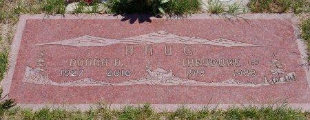 HAUG, DONNA D - Yamhill County, Oregon   DONNA D HAUG - Oregon Gravestone Photos