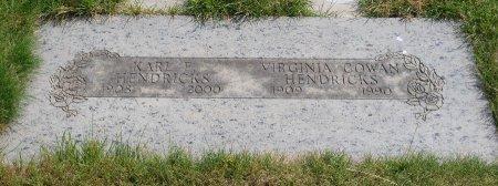 HENDRICKS, VIRGINIA W - Yamhill County, Oregon | VIRGINIA W HENDRICKS - Oregon Gravestone Photos