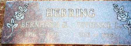 ANDERSON HERRING, VIVIENNE LILLIAN - Yamhill County, Oregon | VIVIENNE LILLIAN ANDERSON HERRING - Oregon Gravestone Photos