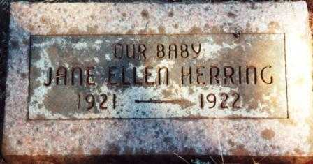 HERRING, JANE ELLEN - Yamhill County, Oregon | JANE ELLEN HERRING - Oregon Gravestone Photos