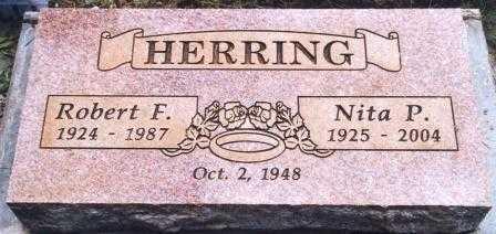 POTEET HERRING, JUANITA PEARL 'NITA' - Yamhill County, Oregon | JUANITA PEARL 'NITA' POTEET HERRING - Oregon Gravestone Photos