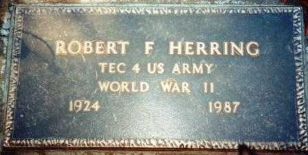 HERRING (WWII), ROBERT FREDERICK - Yamhill County, Oregon | ROBERT FREDERICK HERRING (WWII) - Oregon Gravestone Photos