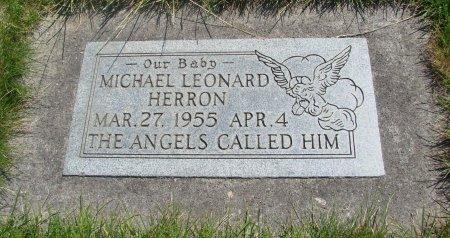 HERRON, MICHAEL LEONARD - Yamhill County, Oregon   MICHAEL LEONARD HERRON - Oregon Gravestone Photos