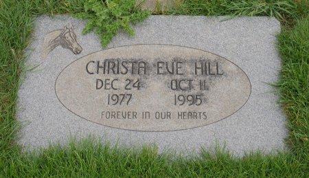 HILL, CHRISTA EVE - Yamhill County, Oregon | CHRISTA EVE HILL - Oregon Gravestone Photos