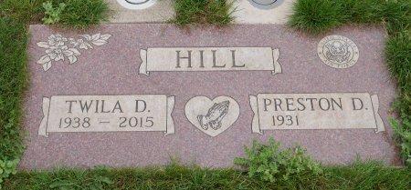 HILL, PRESTON D - Yamhill County, Oregon   PRESTON D HILL - Oregon Gravestone Photos
