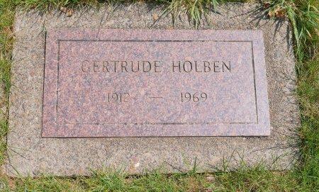 HOLBEN, GERTRUDE ADELLA - Yamhill County, Oregon | GERTRUDE ADELLA HOLBEN - Oregon Gravestone Photos