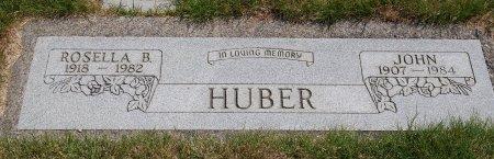 HUBER, ROSELLA B - Yamhill County, Oregon   ROSELLA B HUBER - Oregon Gravestone Photos