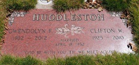 HUDDLESTON, GWENDOLYN F - Yamhill County, Oregon   GWENDOLYN F HUDDLESTON - Oregon Gravestone Photos