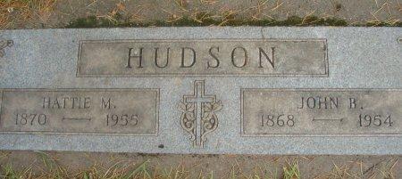 HUDSON, HATTIE MAGDALENA - Yamhill County, Oregon | HATTIE MAGDALENA HUDSON - Oregon Gravestone Photos