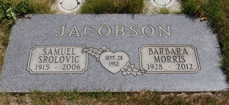 MORRIS JACOBSON, BARBARA JANET - Yamhill County, Oregon   BARBARA JANET MORRIS JACOBSON - Oregon Gravestone Photos