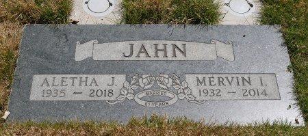 JAHN, ALETHA J - Yamhill County, Oregon | ALETHA J JAHN - Oregon Gravestone Photos