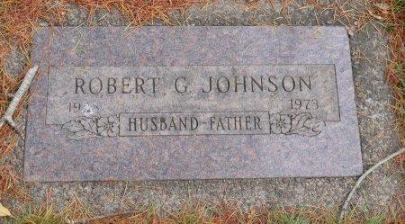 JOHNSON, ROBERT G - Yamhill County, Oregon   ROBERT G JOHNSON - Oregon Gravestone Photos