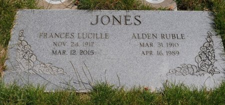JONES, ALDEN RUBLE - Yamhill County, Oregon | ALDEN RUBLE JONES - Oregon Gravestone Photos