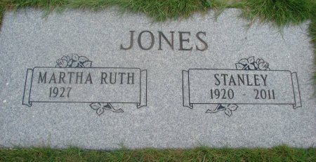 JONES, MARTHA RUTH - Yamhill County, Oregon | MARTHA RUTH JONES - Oregon Gravestone Photos