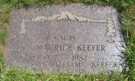 KEEFER, W MAURICE - Yamhill County, Oregon | W MAURICE KEEFER - Oregon Gravestone Photos
