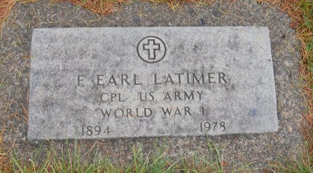 LATIMER, FRANCIS EARL - Yamhill County, Oregon | FRANCIS EARL LATIMER - Oregon Gravestone Photos