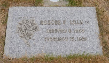 LILLY, ROSCOE FRED IV - Yamhill County, Oregon   ROSCOE FRED IV LILLY - Oregon Gravestone Photos