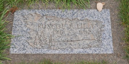 LILLY, ROSCOE FRED - Yamhill County, Oregon   ROSCOE FRED LILLY - Oregon Gravestone Photos