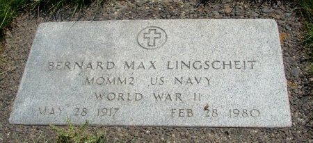 LINGSCHEIT, BERNARD MAX - Yamhill County, Oregon | BERNARD MAX LINGSCHEIT - Oregon Gravestone Photos
