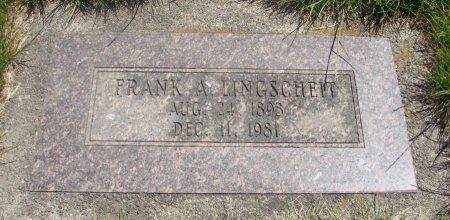 LINGSCHEIT, FRANCIS ALBERT - Yamhill County, Oregon | FRANCIS ALBERT LINGSCHEIT - Oregon Gravestone Photos