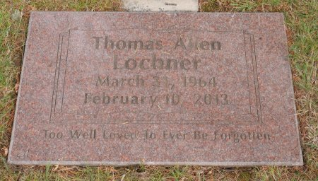 LOCHNER, THOMAS ALLEN - Yamhill County, Oregon | THOMAS ALLEN LOCHNER - Oregon Gravestone Photos