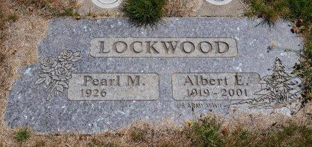 LOCKWOOD, ALBERT EARL - Yamhill County, Oregon   ALBERT EARL LOCKWOOD - Oregon Gravestone Photos