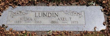 KIHLSTADIUS LUNDIN, HILMA CAROLINE - Yamhill County, Oregon | HILMA CAROLINE KIHLSTADIUS LUNDIN - Oregon Gravestone Photos
